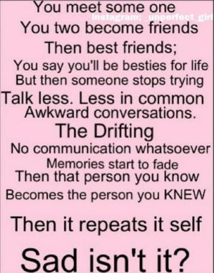 Sad Quotes About Loving Your Best Friend : Sad Quotes Best Friend. QuotesGram