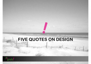 groh! innovation 5 quotes on design thinking