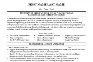 ... Resume, Medical Stuff, Medical Offices Administration, Health Unity