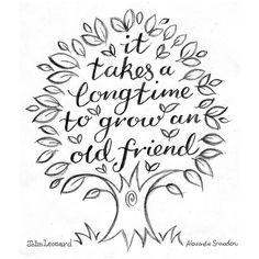 ... doodles, art, letters to friends, long time friends quotes, quotes