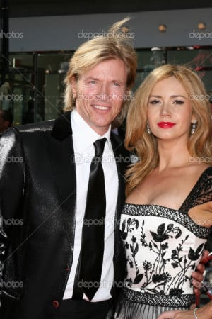 Jack Wagner, Ashley Jones arriving at the Daytime Emmys 2008 at the