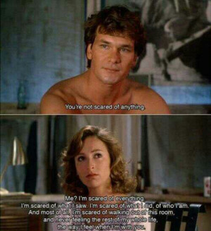 Best line ever!! Dirty Dancing!!