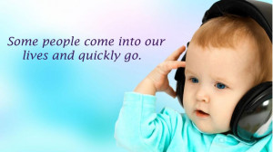 beautiful baby friendship Wallpaper With Quotes