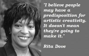 Rita dove quotes 5