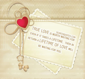 quotes about waiting for love to find you
