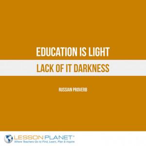 ... , lack of it darkness.