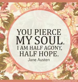 quotes classic literature | ... austen quote literary romantic romance ...