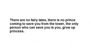 be your own hero fairy tales girl grow up life quotes person