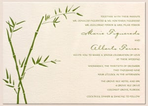 Anyway, there may be many more ideas for a spring wedding invitations ...