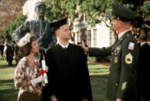 FORREST GUMP, Sally Field, Tom Hanks, 1994, Army recruitng the ...