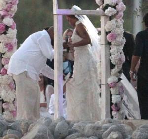 Eve wears Alice Temperley gown, marries Maxmillion Cooper in Ibiza ...