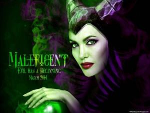 Angelina Jolie In Maleficent 2014 Movie