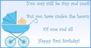 happy birthday baby boy poem