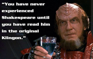 STAR TREK QUOTABLE!