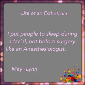 Esthetician Quotes