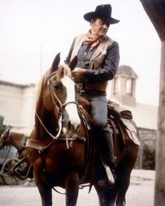 ... carried him in True Grit, Rooster Cogburn, and The Shootist... More