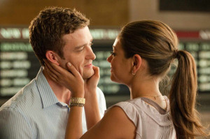 "... romantic comedy "" Friends with Benefits "" opposite Mila Kunis"