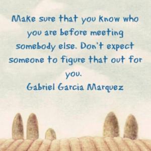 Gabriel Garcia Marquez Quotes and Pictures