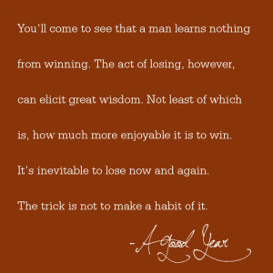 Am A Winner Quotes