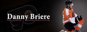 Danny Briere Philadelphia Flyers Timeline Cover