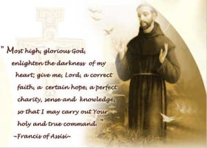 Click here for some more prayers attributed to St Francis of Assisi