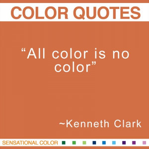 All color is no color