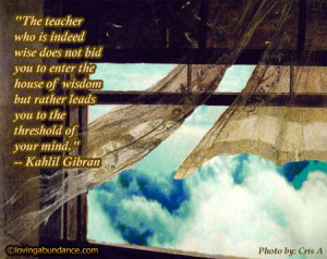 Inspirational Quotes about Life: Quote by Kahlil Gibran