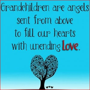 grandchildren are angels ♥
