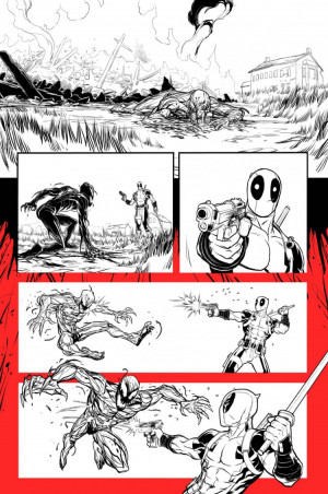 Totally Not Funny Preview of Deadpool vs. Carnage