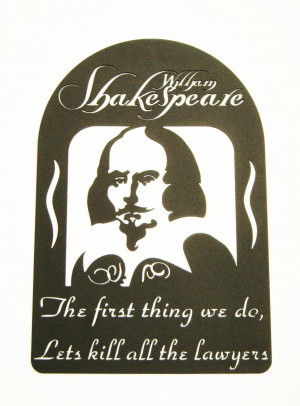 Shakespeare quote Panel