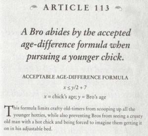 Bro Code: Article 113