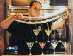 Two Minutes of mindless fun. These bartenders amazed me!