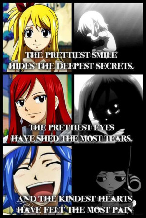 Fairy Tail .:Lucy, Erza and Juvia:. ~Quote by Flames-Keys