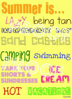 Fun Summer Quotes