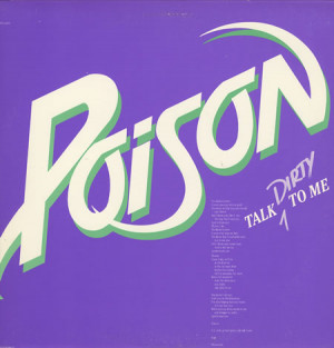 POISON Talk Dirty To Me (1986 US Capitol 1-track promotional 12