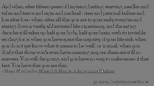 Quotes Bulimia People