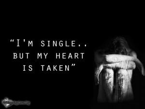 WhisperingLove.org, single, heart, taken, Unknown