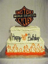 Harley Davidson Birthday Cake York, PA! from Bear Heart Baking Company