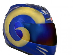 Thread: Rams Motorcycle Helmets?