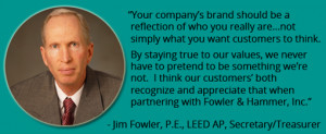 JIM FOWLER ABOUT US QUOTE 2