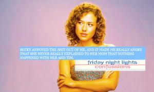 Friday Night Quotes Tumblr #friday night lights #becky