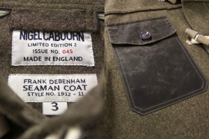 Scott 39 s Last Expedition Frank Debenham Seaman Coat in Army Green