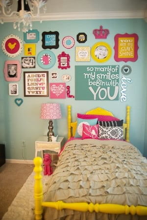 Isn't this cute for a kids room? I think with modification, it could ...