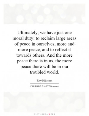 ... Hillesum Quotes | Etty Hillesum Sayings | Etty Hillesum Picture Quotes