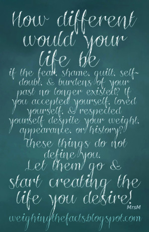Recovery Inspiration: How Different Would Your Life Be If...