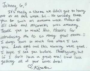 Cholo Handwriting