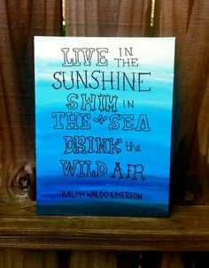 live in the sunshine quote canvas more tattoo ideas quotes canvas ...