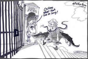 Gates Cartoon