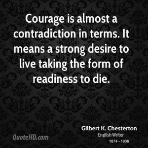 Gilbert K. Chesterton Quotes | QuoteHD