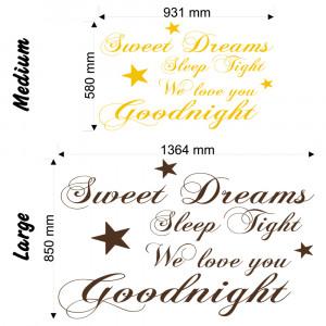 Sleep Tight Quotes Sweet dreams sleep tight v2